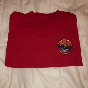 Red Volcom Long Sleeve from Tilly's